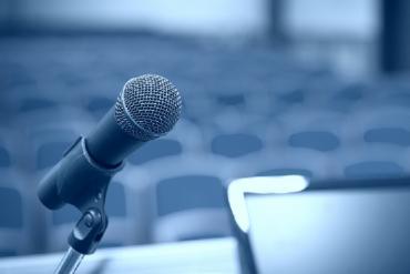 Speaker's mic