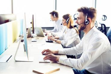 Picture of contact center agents