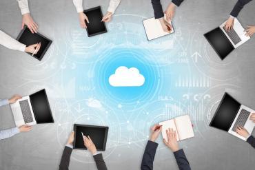 A cloud team collaboration solution