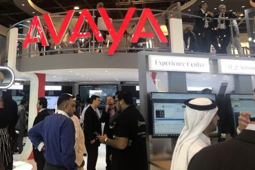 Avaya booth at GITEX 2019