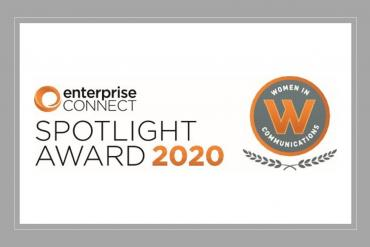 Enterprise Connect Spotlight Award logo