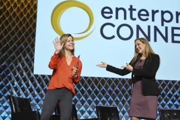 Picture of the Best of Enterprise Connect 2019 award presentation