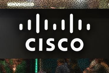 A Cisco logo