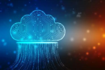 A cloud graphic