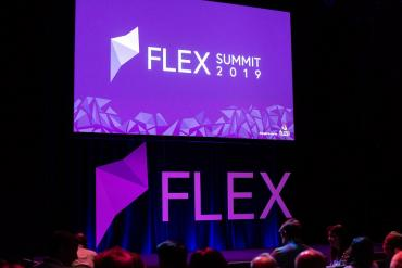 Flex Summit event stage