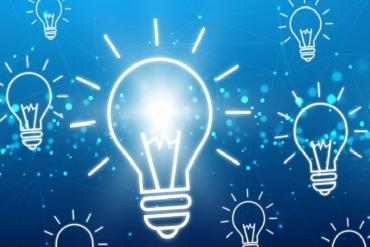 Illustration of lightbulbs