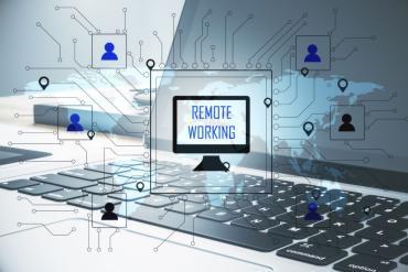 Illustration: remote working