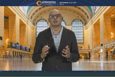 Anand Eswaran at Enterprise Connect