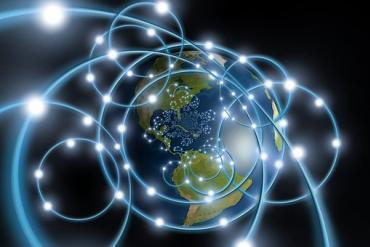 Global network depiction