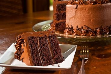 Chocolate layer-cake