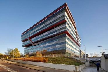 UNStudio-designed Rabobank office in Eindhoven,Netherlands