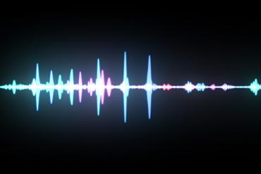 Picture of a voice wave