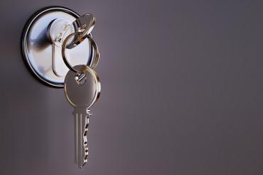 Door lock & key