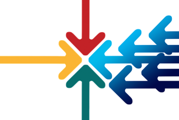 Arrows showing integration
