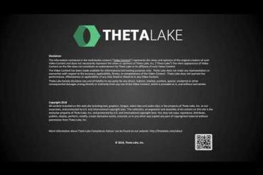 E20 Innovation Showcase: Theta Lake Compliance and Risk Management