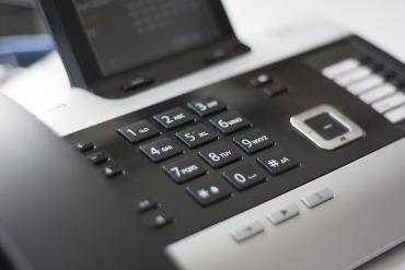 A business phone