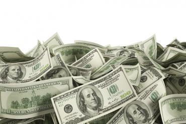 Pile of $100 bills