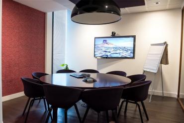 Video meeting space