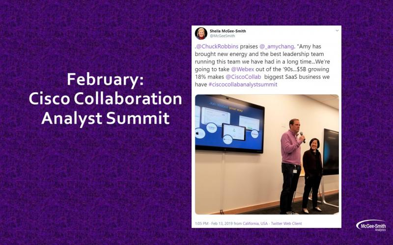 Cisco Collaboration Analyst Summit