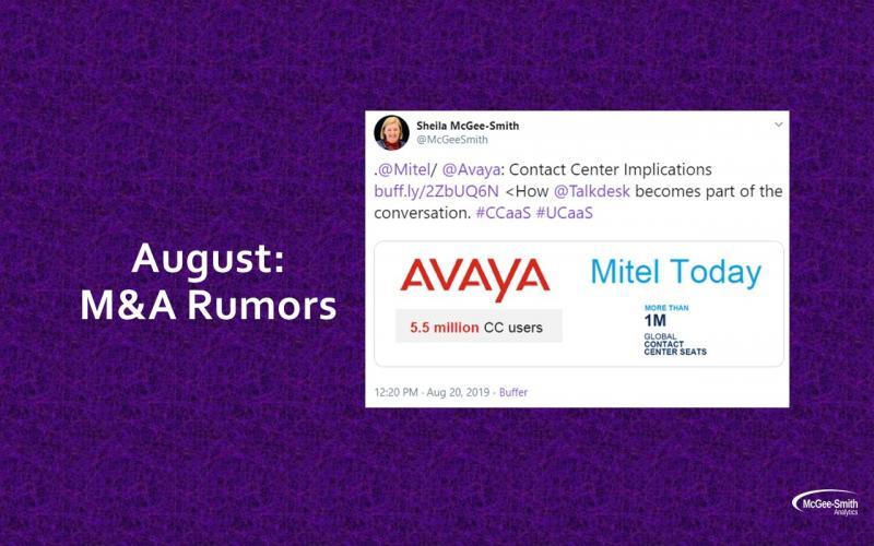 M&A rumors
