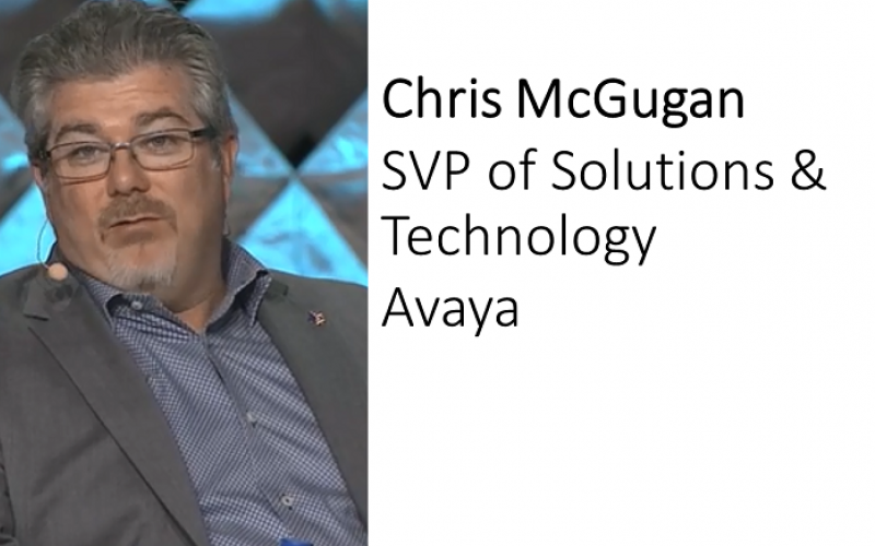 Chris McGugan, Avaya