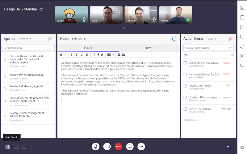 Huddl.ai video conferencing solution