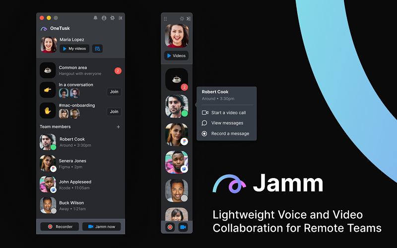 Jamm's video conferencing solution