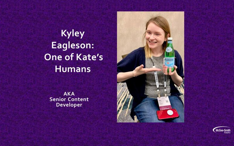 Kyley Eagleson: One of Kate's Humans