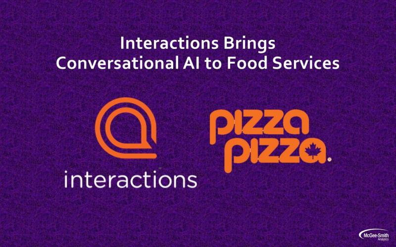 Interactions brings conversational AI to Pizza Pizza