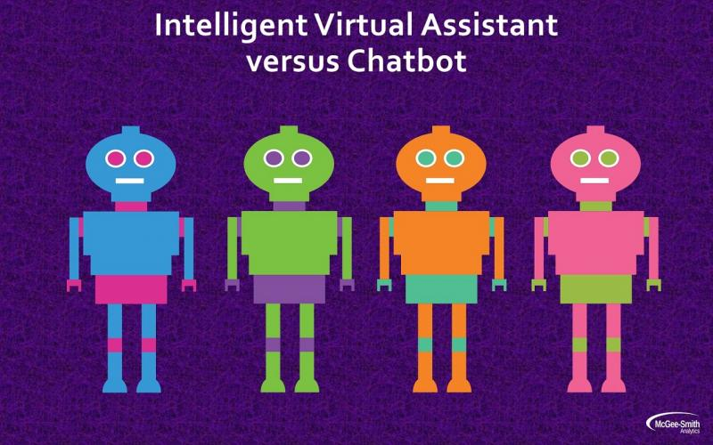 Intelligent virtual assistant vs. chatbot
