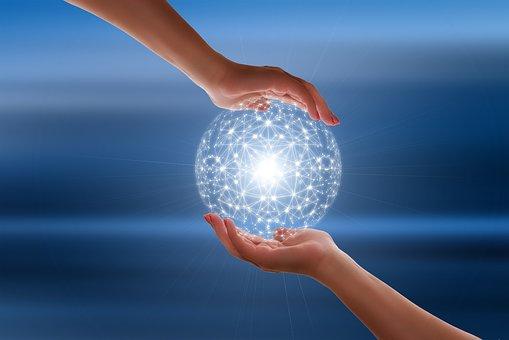 Image illustrating global networking